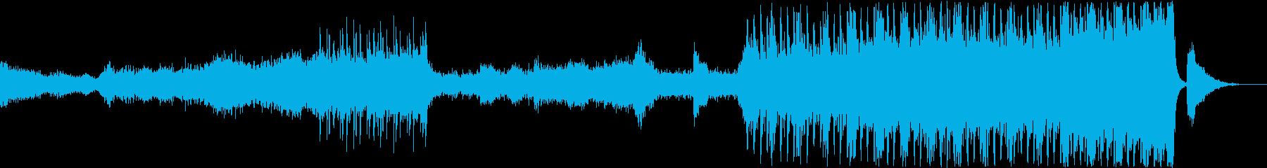 緊張感のあるエレクトリック&オーケストラの再生済みの波形