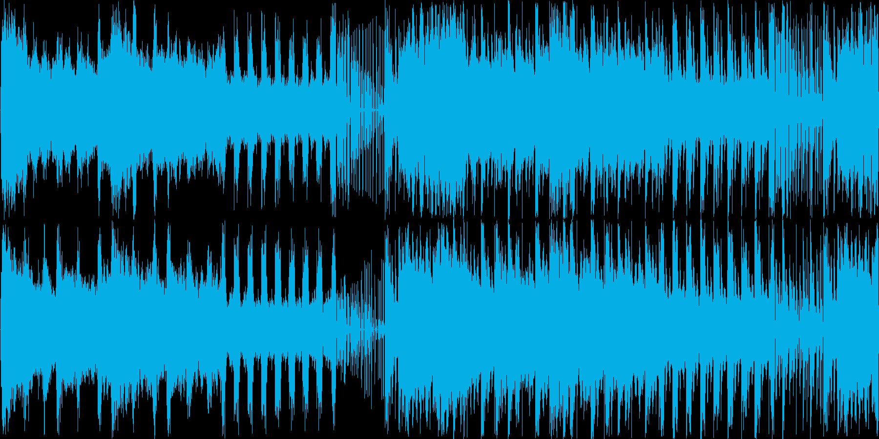 【ゲームスタート/戦闘開始/BGM】の再生済みの波形
