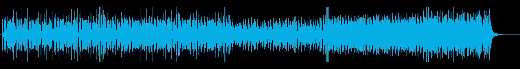 ジングルベルのシャッフルテクノ カラオケの再生済みの波形