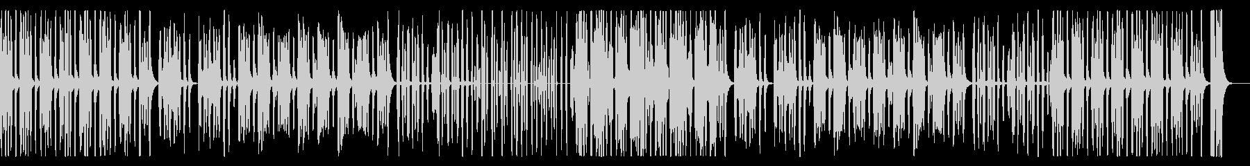 かわいいほのぼのリコーダー、パーカス抜きの未再生の波形