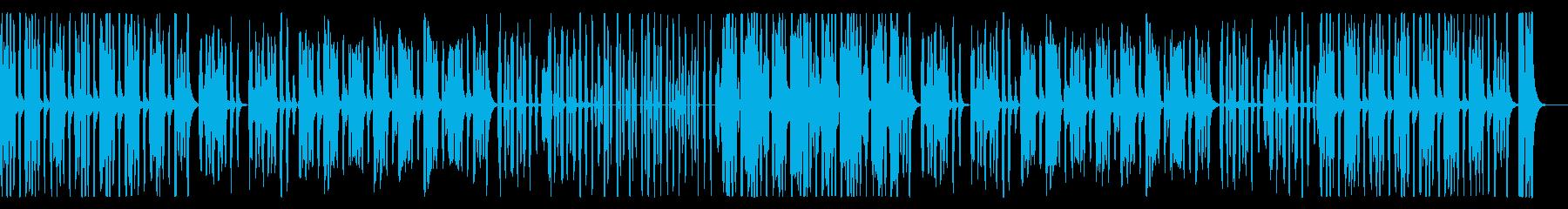 かわいいほのぼのリコーダー、パーカス抜きの再生済みの波形
