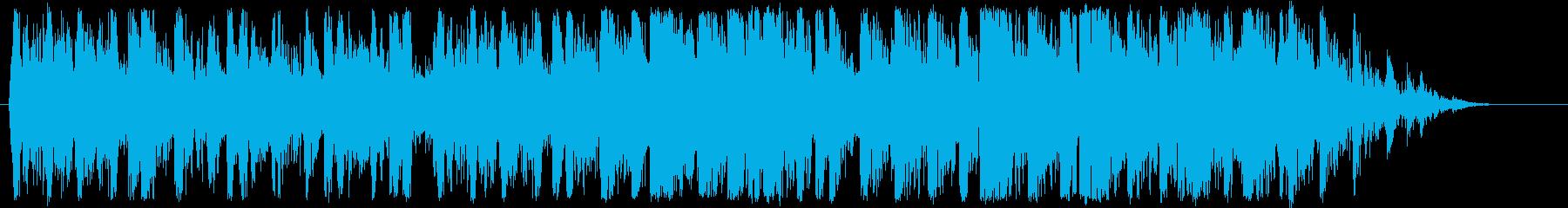 ドラムの再生済みの波形