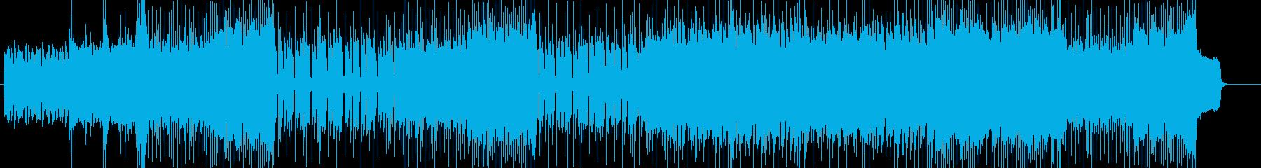 「HR/HM」「ROCK」BGM234の再生済みの波形