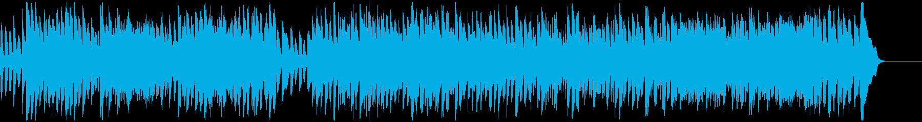 バッハ_インヴェンション第8番_ピアノの再生済みの波形