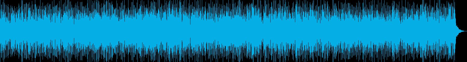 アコギが爽やかな夏のイメージのBGMの再生済みの波形