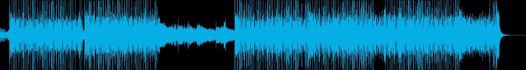 ファンキーで遊び心のあるヒップホップの再生済みの波形