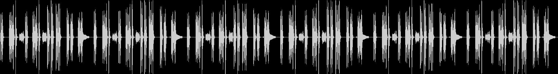 少し暗めな日常BGMクラリネットの未再生の波形