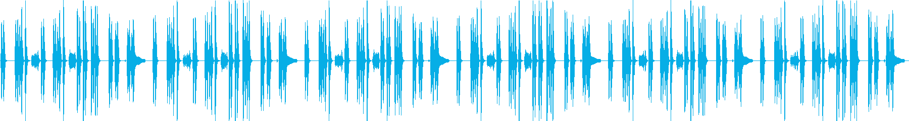 少し暗めな日常BGMクラリネットの再生済みの波形