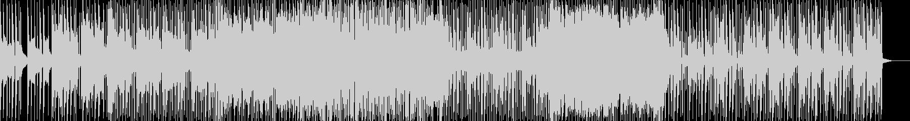 イントロのシンセ音が印象的なカッコイイ曲の未再生の波形