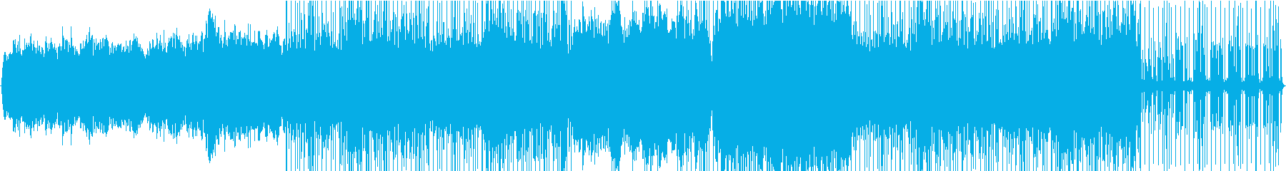 柔らかな弦、ピアノ、クリーンなエレ...の再生済みの波形