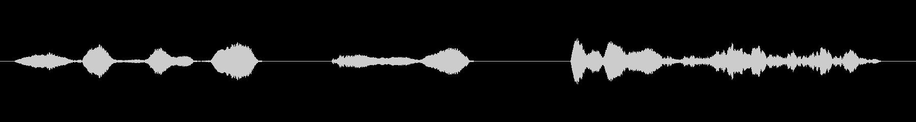 小鳥笛1水笛スライドホイッスル歌舞伎和風の未再生の波形