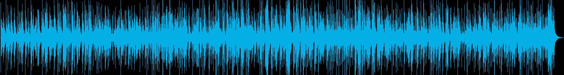 落ち着いたジャズピアノトリオバラードの再生済みの波形