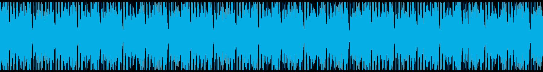 Loop 和風のサイバーヒップホップの再生済みの波形