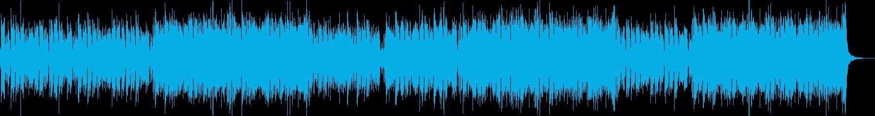 明るく陽気な民族風音楽/BGMの再生済みの波形