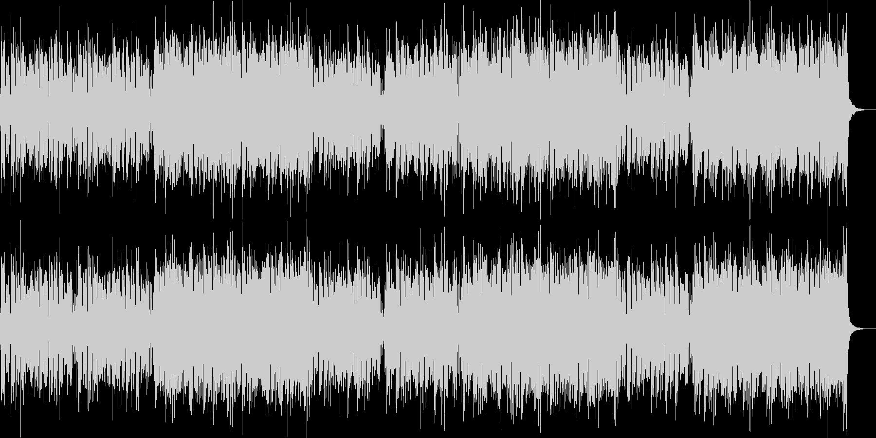 明るく陽気な民族風音楽/BGMの未再生の波形