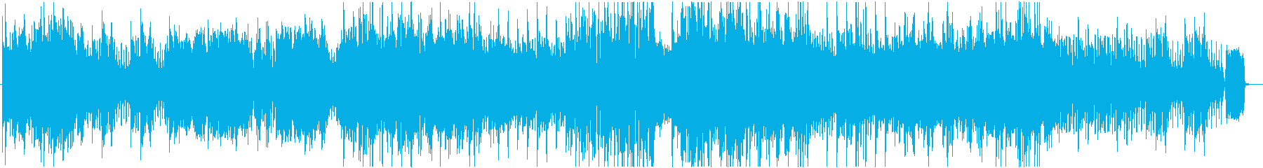 ピアノと弦楽器の華やかなインスト曲の再生済みの波形