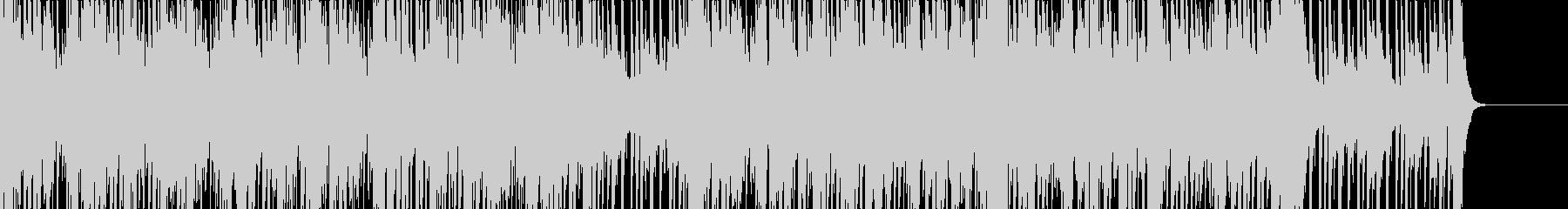 Jazz風ブルースギター・夜のイメージの未再生の波形