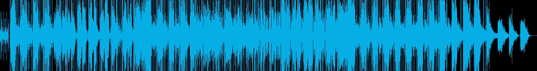 切ないピアノHIPHOPの歌ものの再生済みの波形