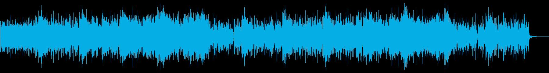 アラビアンな砂漠系ファンタジーBGMの再生済みの波形