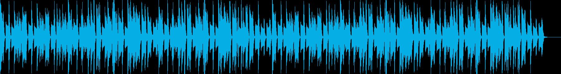日常・料理・作業 ピアノ サイレント映画の再生済みの波形