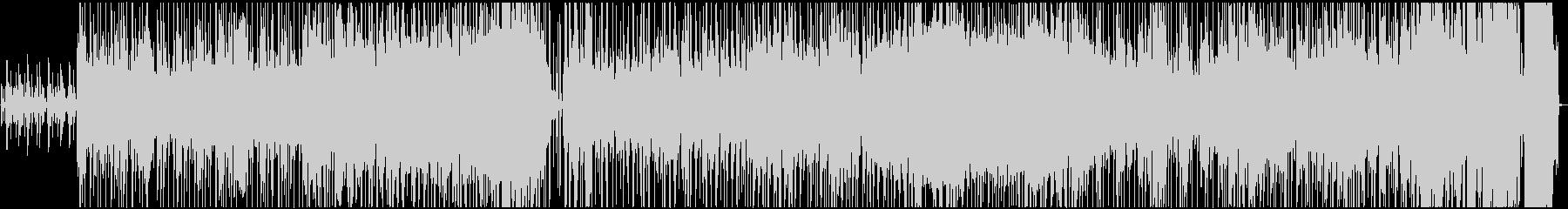 明るく楽しいオルガン・ファンクの未再生の波形