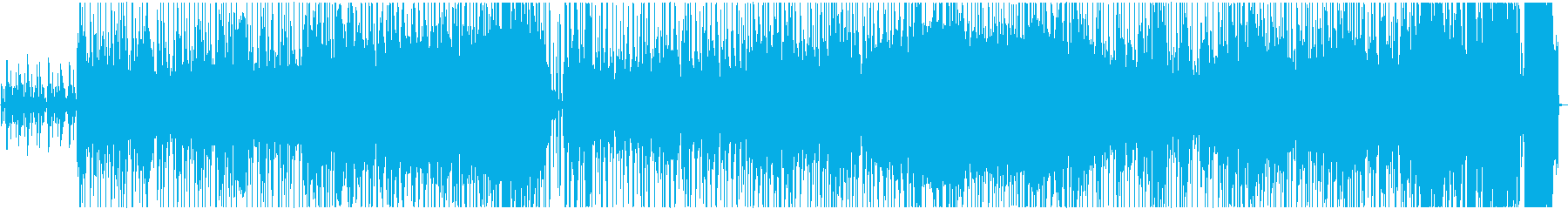 明るく楽しいオルガン・ファンクの再生済みの波形