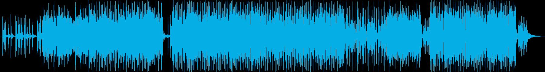 エレクトロ 繰り返しの 楽しげ ハ...の再生済みの波形