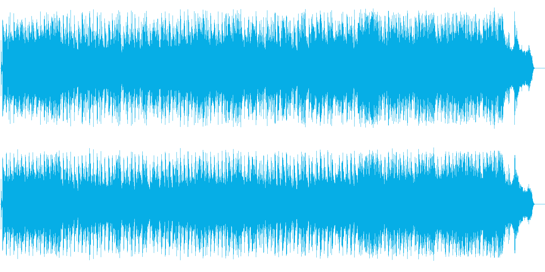 思い出が輝き続けるニューミュージックの再生済みの波形