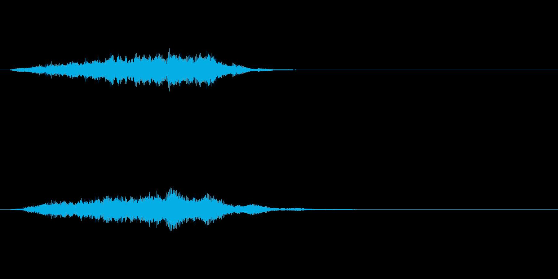 湧き上がってくるようなサウンドロゴ 壮大の再生済みの波形