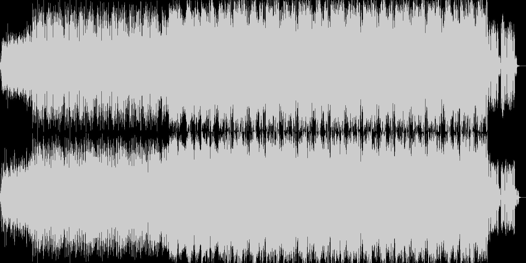 ミステリアスな曲調のサスペンス系BGMの未再生の波形
