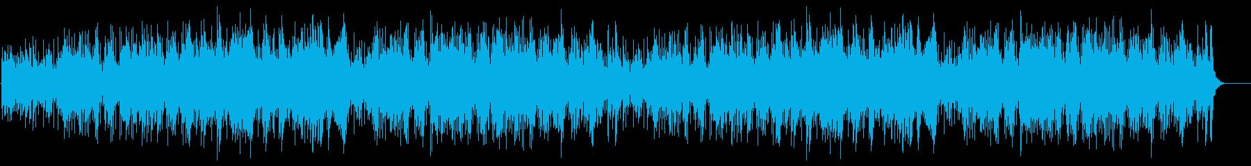 ウェディングに適した陽ざしの似合う楽曲の再生済みの波形