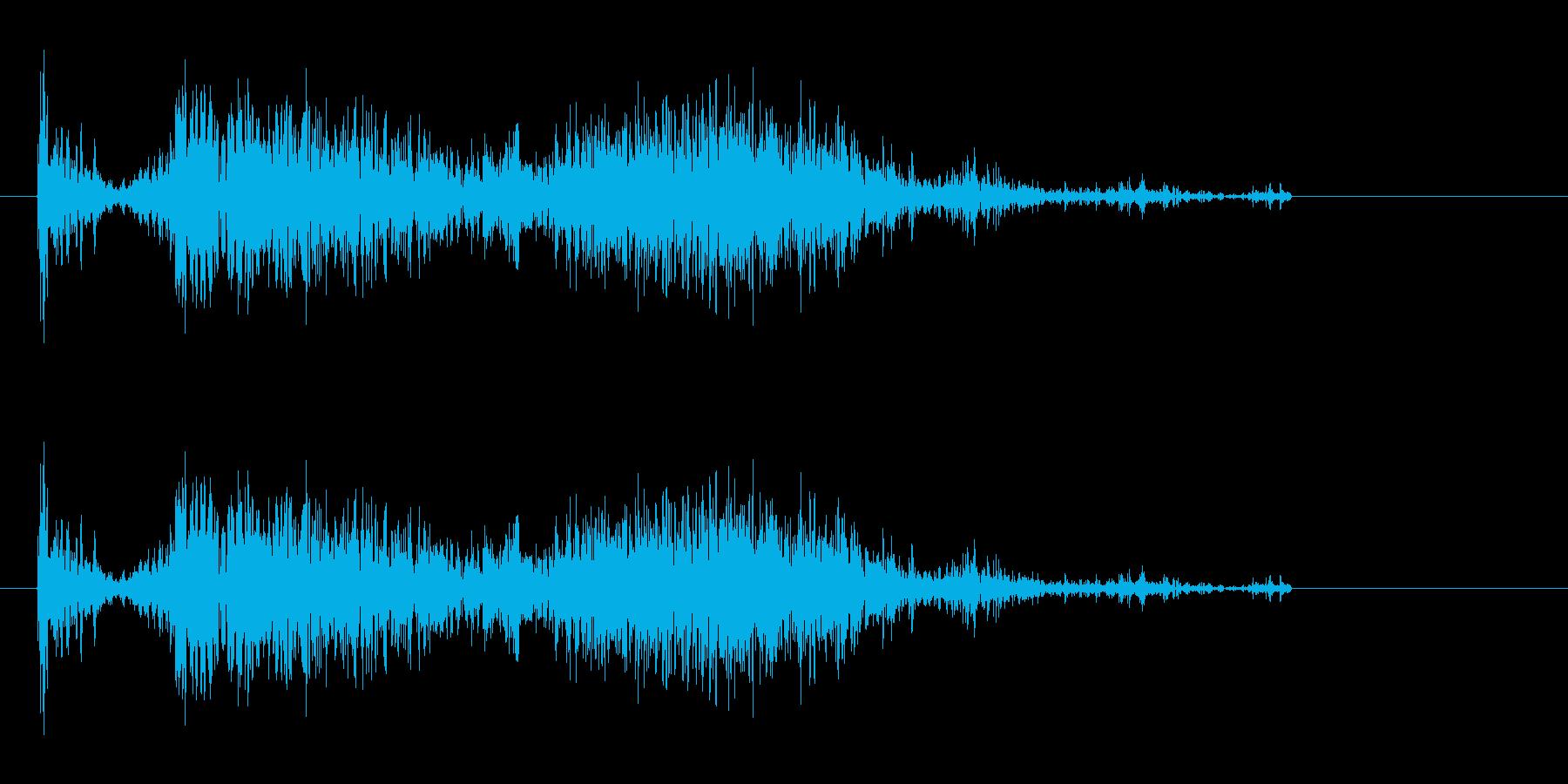 ドボーン!(飛び込み)の再生済みの波形