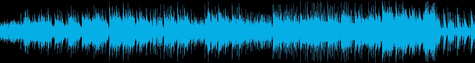 サイエンスフィクション音楽。神秘的...の再生済みの波形