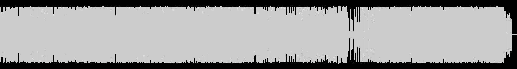 シューティングイメージの未再生の波形