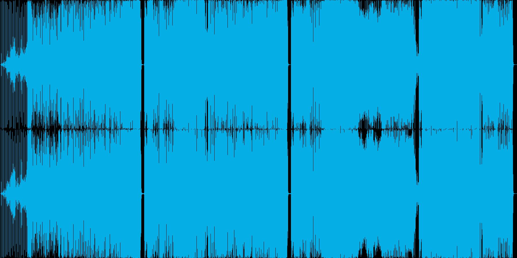 ロボットボイスのEDM&テクノの再生済みの波形