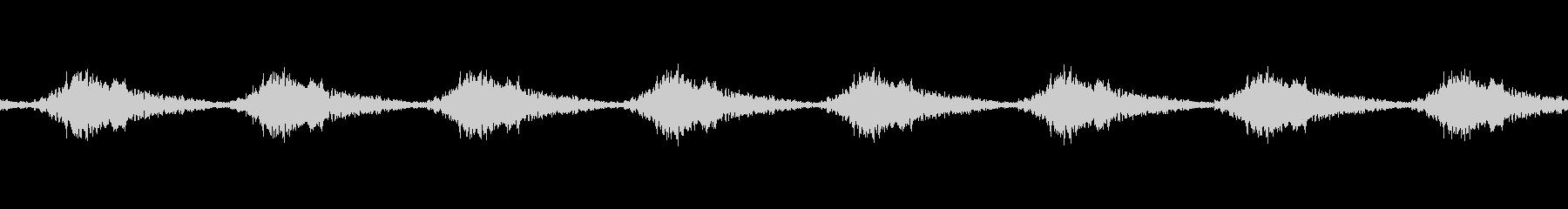 工場機械の反復音(ループ仕様)の未再生の波形
