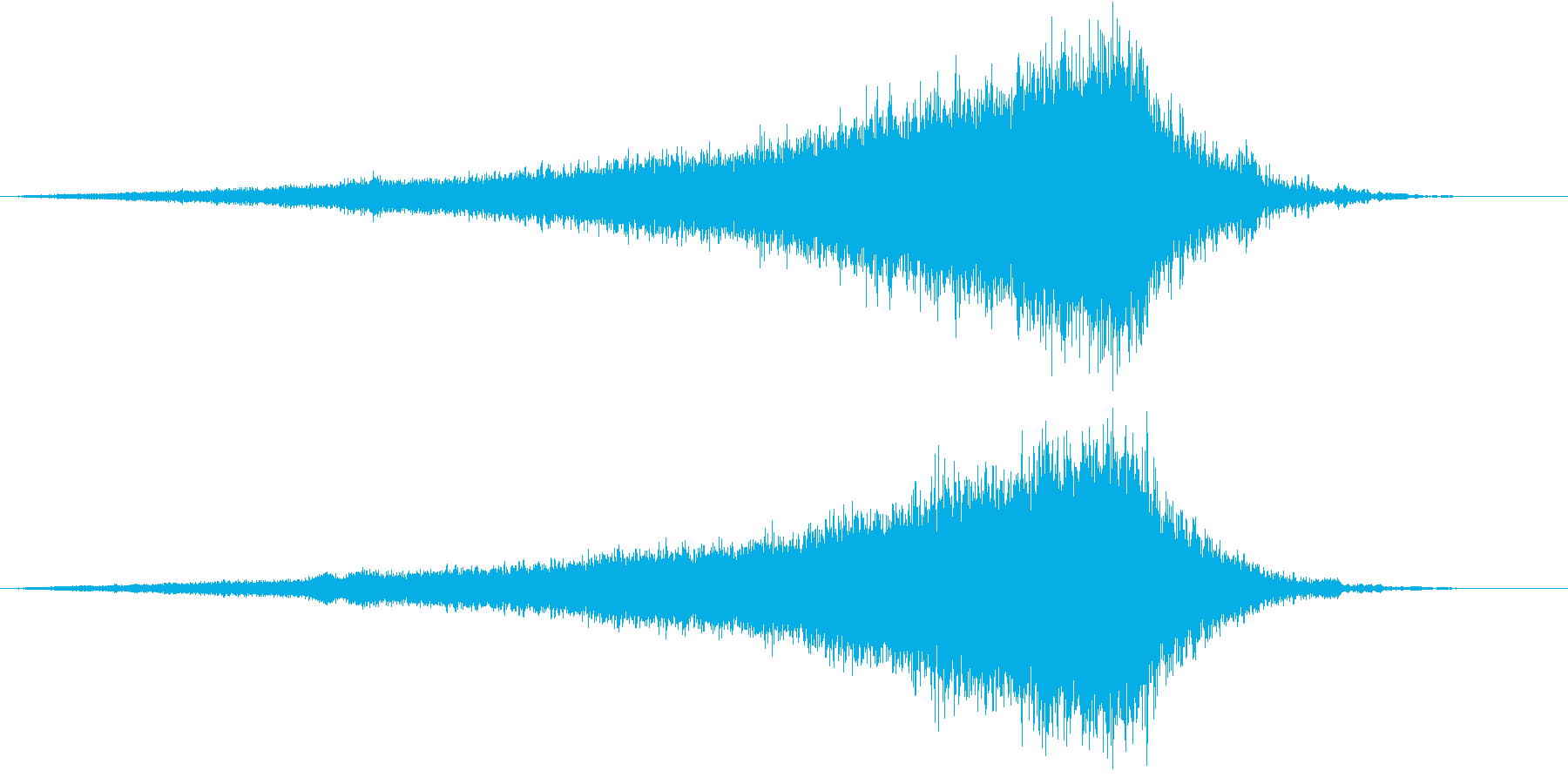 【ライザー】05 SFサウンド 宇宙の再生済みの波形