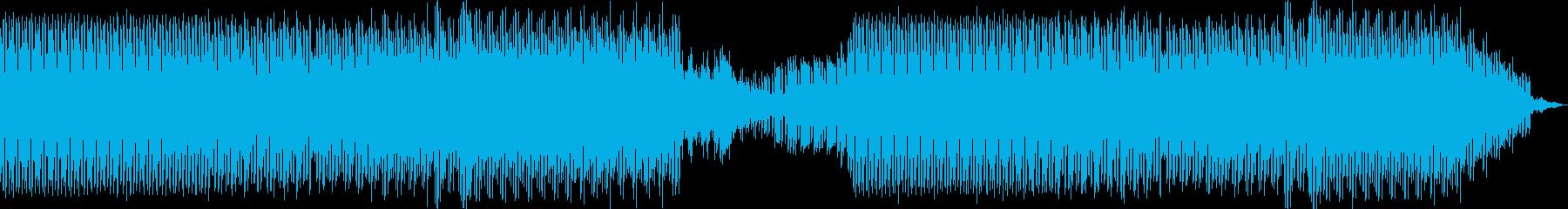 ダーク。退屈なの再生済みの波形