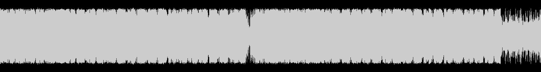 オーケストラとクワイア編成のループ仕様曲の未再生の波形