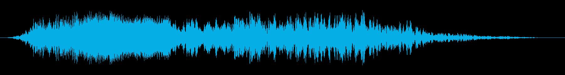 コメットトレイル3の再生済みの波形