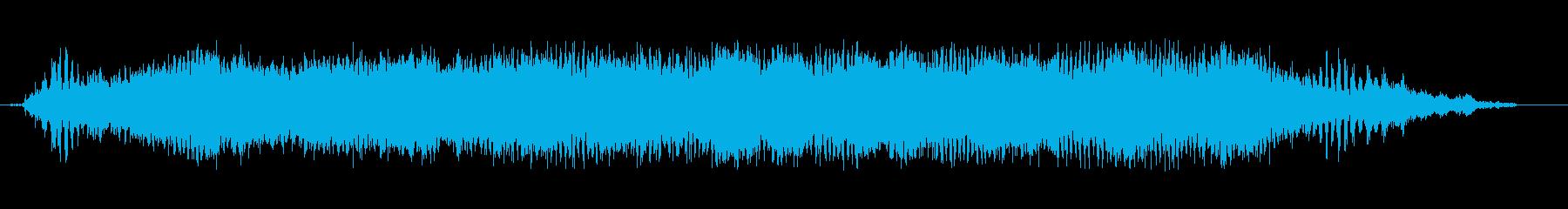 シュレッダーはドキュメントを破壊し...の再生済みの波形