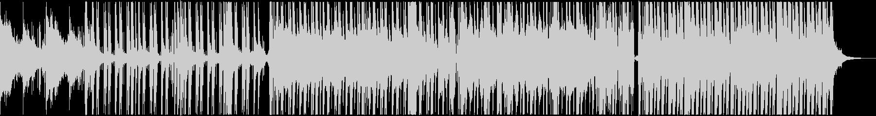 シンセとカリンバが融合したダンスチューンの未再生の波形