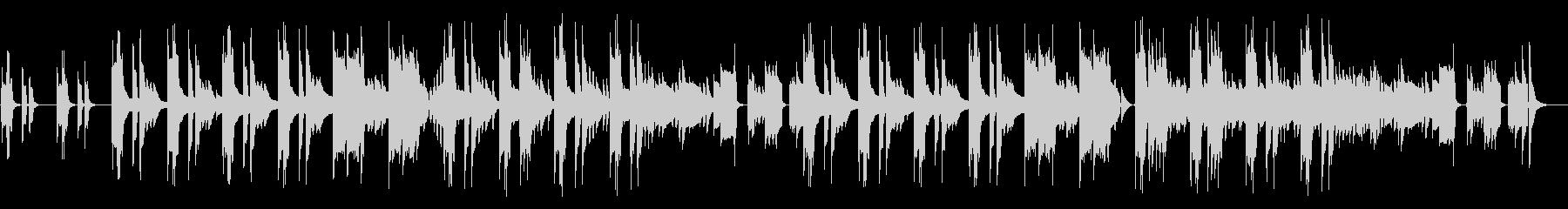 リコーダー、ほのぼの日常会話/ドラム抜きの未再生の波形