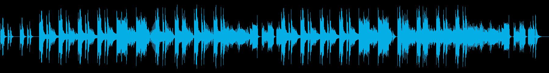 リコーダー、ほのぼの日常会話/ドラム抜きの再生済みの波形