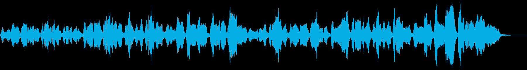 イングランドのキャロル、3声女性コーラスの再生済みの波形