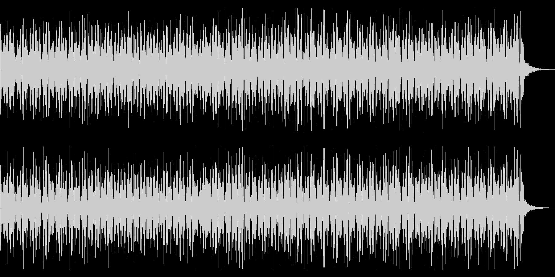 明るく元気な雰囲気の沖縄BGM/三線の未再生の波形