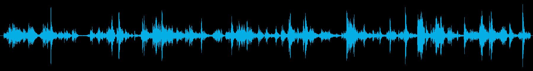 飛行機 貨物エリアランブルラトル01の再生済みの波形
