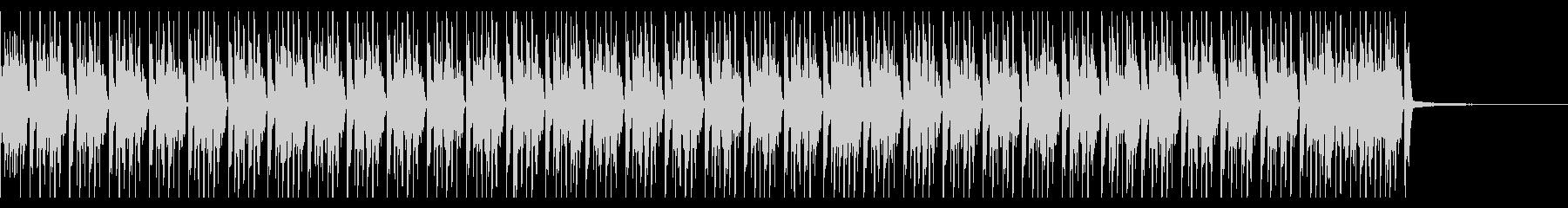 わくわく感 ごきげんなソロドラムの未再生の波形