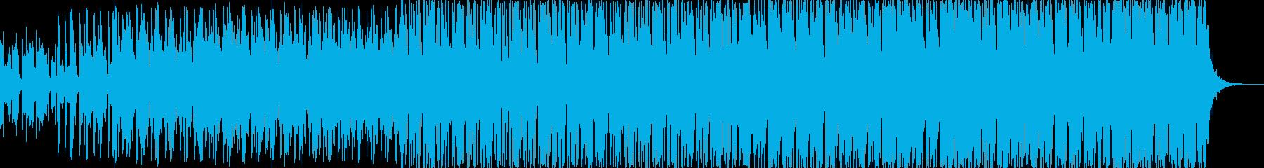 ゆったり 優しい 宇宙系エレクトロニカの再生済みの波形