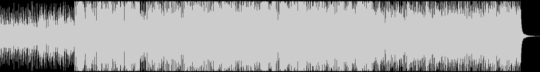 企業向け 近未来的なエレクトロな曲の未再生の波形